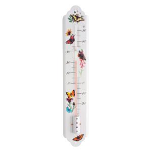 Wetterinstrumente Nostalgisches Innen-Außen-Thermometer