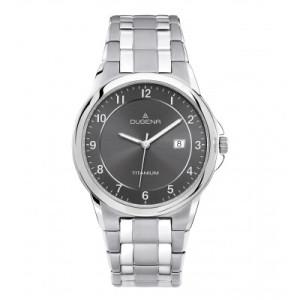 DUGENA titanium horloge, heren
