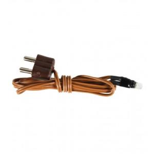 LED kabel+stekker Kleur oranje