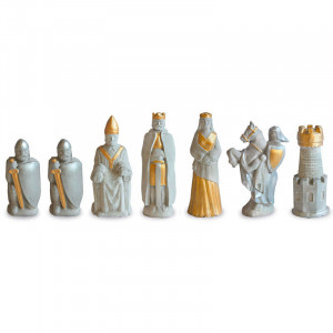 "Chessmen Set "" King Arthur"""