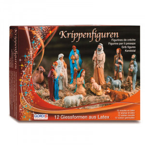 Latexvormen set Kerststalfiguren