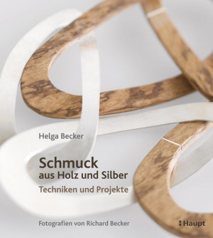 Book Wood and Silver Jewellery