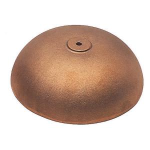 Klok brons gegoten Ø:40 mm