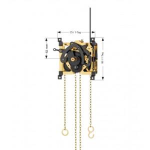 Koekoeksklok HG Vervangend uurwerk voor Regula 25