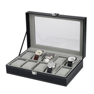 Uhrensammelbox für 10 Uhren