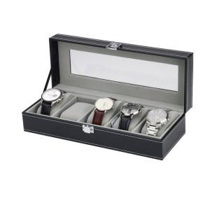 Horloge opbergbox voor 5 horloges