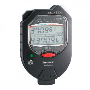 Hanhart Multifunctional and memory stopwatches with 2-button operation