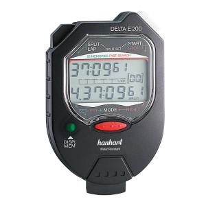 Hanhart Multifunctionele stopwatch met geheugen en bediening via 2 knoppen