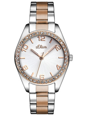 s.Oliver Dames horloge SO-2774-MQ