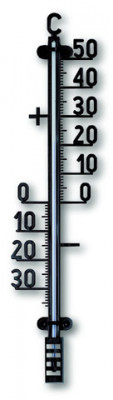 Outdoor Thermometer, 98x27mm