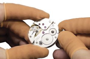 Fingerlinge antistatisch, ungepudert, Größe M - 144 Stk. Packung