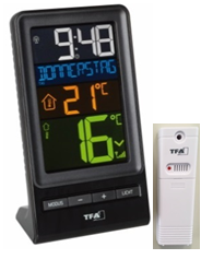 TFA Radioncontrolled thermometer draadloos