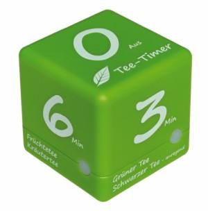 TFA Kookwekker Cube thee timer groen