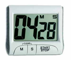 TFA electronic timer with stopwatch