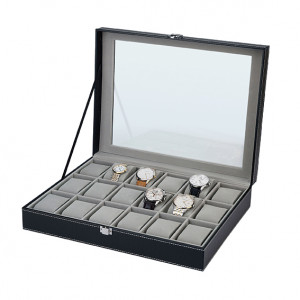 Horloge opbergbox voor 18 horloges