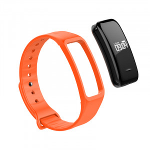 Replacement strap for Fitnesstracker, orange