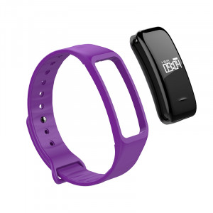 Replacement strap for Fitnesstracker, purple