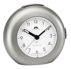 Tijdseinwekker Made in Germany titaniumkleur