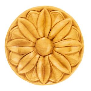 Sierdeel hout bloem Ø 70 x 7mm