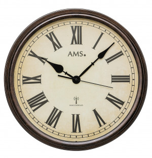 AMS Radio controlled wall clock Villach