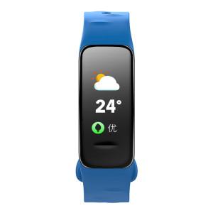 Fitness Tracker, blau, mit Farbdisplay