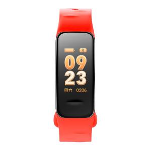 Fitness Tracker, rot, mit Farbdisplay