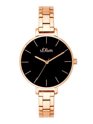 s.Oliver horlogebandje roestvrij staal rosé SO-3649-MQ