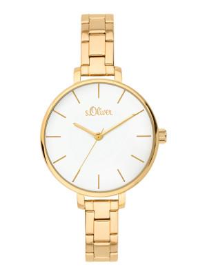 s.Oliver horlogebandje roestvrij staal goud SO-3650-MQ