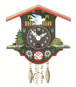 Miniatur Pendeluhr Lenzburg mit 1-Tag-Werk