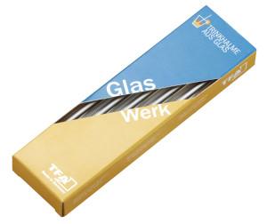 Rietjes van glas, Ø 8 mm, lengte 15 cm