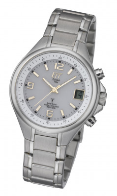 Eco Tech Time Solar Drive Radio Controlled Basic Gents Watch