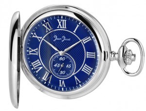 Jean Jacot Pocket Watch chromed with little second hand