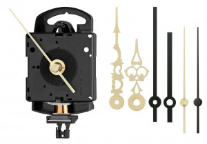 Quartz pendulum clock set Junghans SK 817 including pointer set, ZWL 16,2mm
