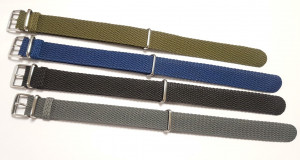 Nato perlon strap navy-blue 20mm