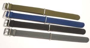 Nato Perlonbandje blauw 20mm