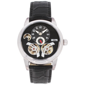 SELVA Men's Watch »Garcia« - silvered-black