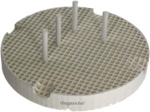 Keramische soldeerplaat Ø 80mm met 20 keramische pinnen