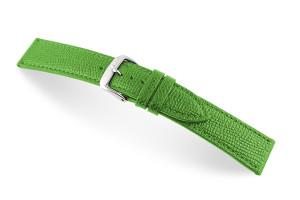 Lederband Pasadena 14 mm groen