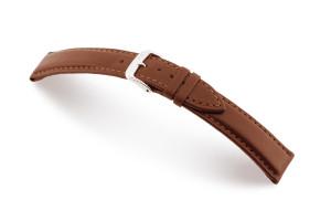 Lederband Corona 22mm mahonie