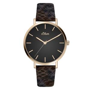 s.Oliver SO-3849-LQ Leder bruin 16mm