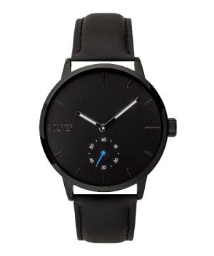 s.Oliver SO-3753-LQ Leder zwart 20mm