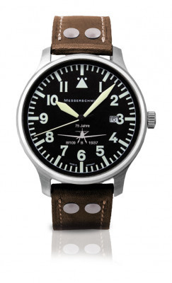 MESSERSCHMITT Men's Quartz Watch 75 Years BF 109