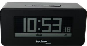TECHNOLINE Tijdsein gestuurde wekker met veranderlijk display