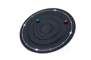 TECHNOLINE magneet klok Galaxie