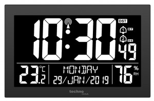 TECHNOLINE Radio controlled wall clock