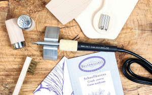 Cadeau set Brenn-Peter met houten voorwerpen