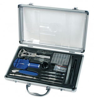 Watchmaker Tool set in alu case