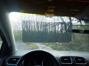 Anti-verblindingsbescherming voor de auto, dag en nacht
