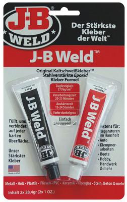 J-B Weld Original koudlaslijm, 2x28,4 gr.