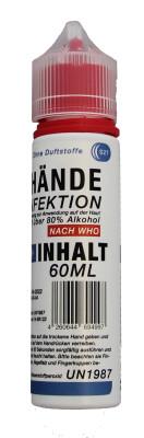 Spray désinfectant pour les mains, 60ml